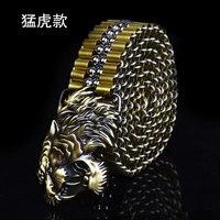 Брутальный металлический ремень