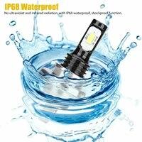 white led bulbs h4 9003 hb2 high low beam high quality ip68 waterproof super bright csp led headlight kit