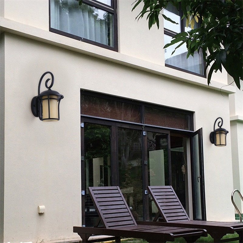 86LIGHT Outdoor Wall Light Classical LED Sconces Retro Lamp Waterproof IP65 Decorative For Home Porch Villa enlarge