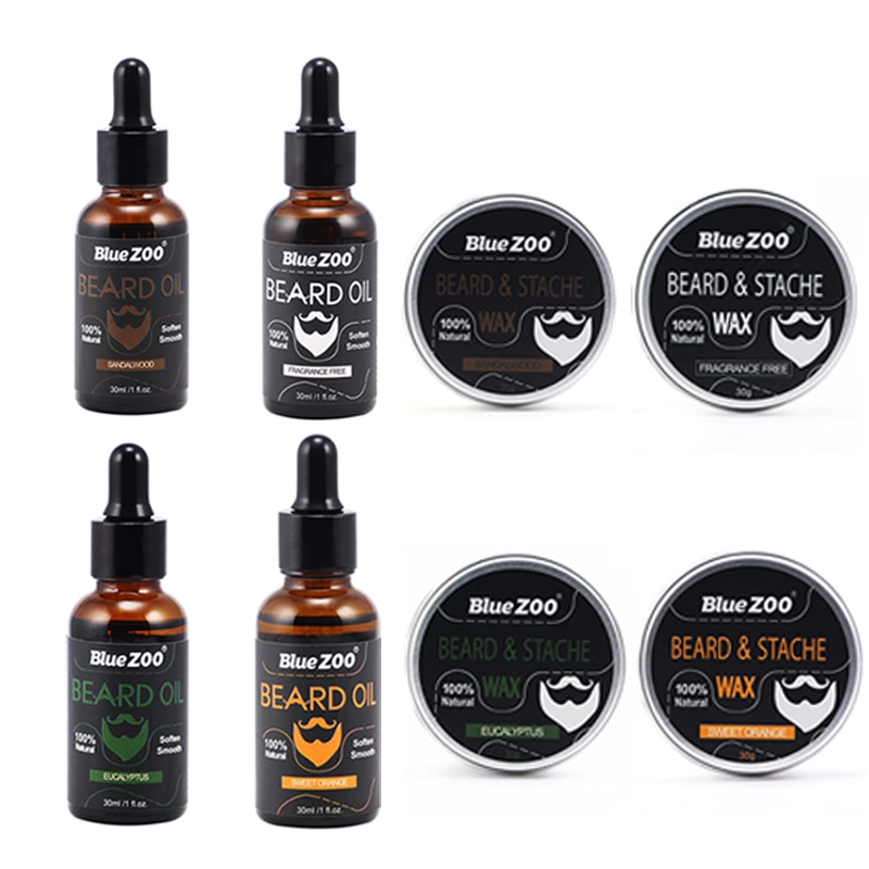 30ML Beard Oil Natural Hair Loss Products Health Care Tools Leave-In Conditioner Groomed Beard Growth for Men