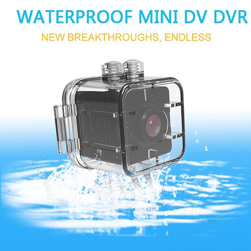 ABHU-Mini cámara impermeable SQ12 HD deporte visión nocturna videocámara 1080P DV videocámara infrarroja Cámara M