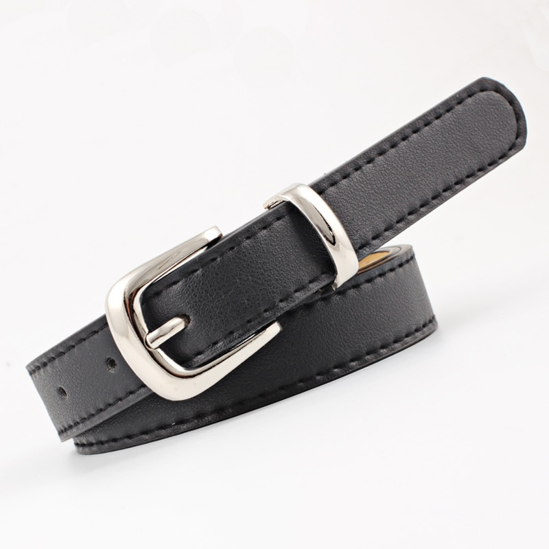 Ke Meiqis Simple and Fashionable Ladies Belt, Style, Multicolor Belt with Buckle, Style Designer