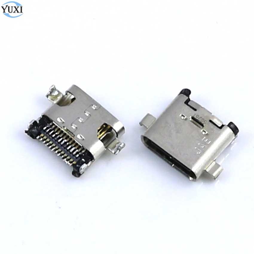 YuXi 2 piezas para Sony Xperia L1 G3311 G3312 G3313/MeiTu M8 M8S T8 T8S de puerto de carga Micro USB conector enchufe base