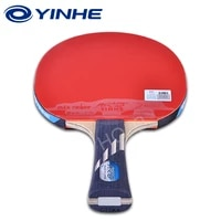 yinhe 10 star racket galaxy 5 wood2 carbon off pips in rubber table tennis rackets ping pong bat