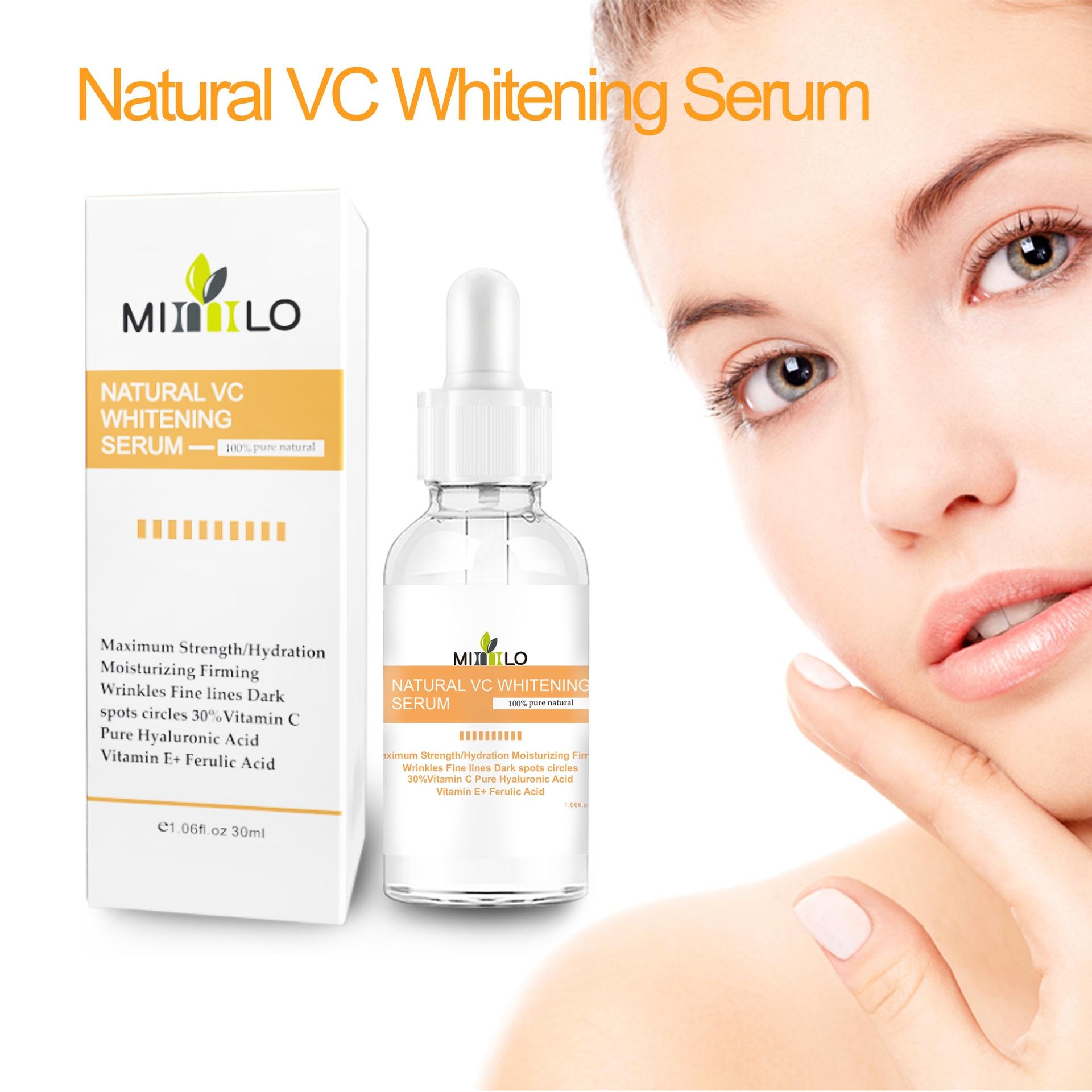 30ml  VC essence, moisturizing, brightening skin tone, vitamin C essence, hyaluronic acid essence недорого
