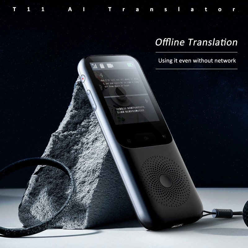 T11 2.4inch Touch Screen Translator Real-time Smart Voice Photo Translator 138 languages Translation Portable Offline Tradutor enlarge