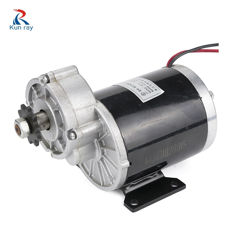 UNITEMOTOR Kit Electric DC Brush Motor MY1020Z 450W 24V 36V 48V Gear Decelerate Tricycle Motorcycle Quad Car Accessories Cycle