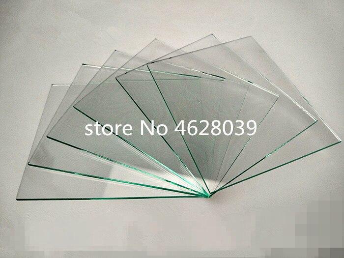 100mmx100mmx0.7mm R<7 ohm/sq,5pcs/12pcs Lab Transparent Conductive Indium Tin Oxide ITO coated Glass Top Quality