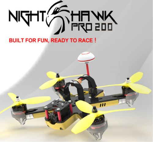 Emax Nighthawk Pro 200 200 مللي متر F3 FPV Racing Drone PNP مع 5.8G 48CH 25-200mW VTX 600TVL CCD Camera