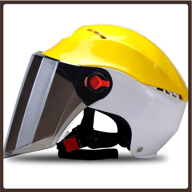 Casco de motociclismo para Mujer, accesorios de carreras, equipo de escalada