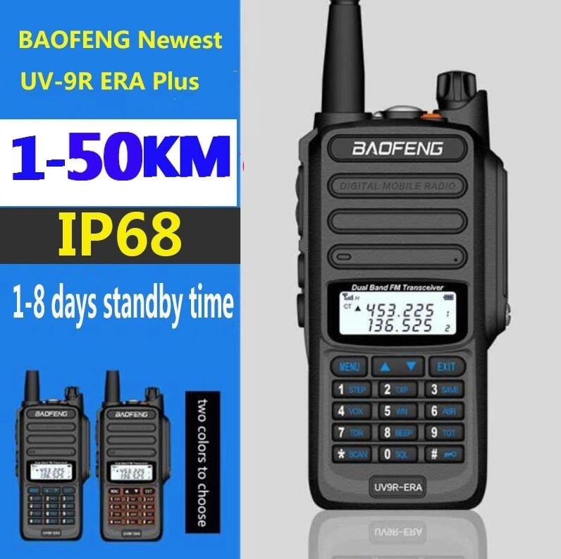NEW long range walkie talkie radio communicator 30 km for Hunting Baofeng UV-9R ERA ip68 waterproof cb ham radio hf transceiver