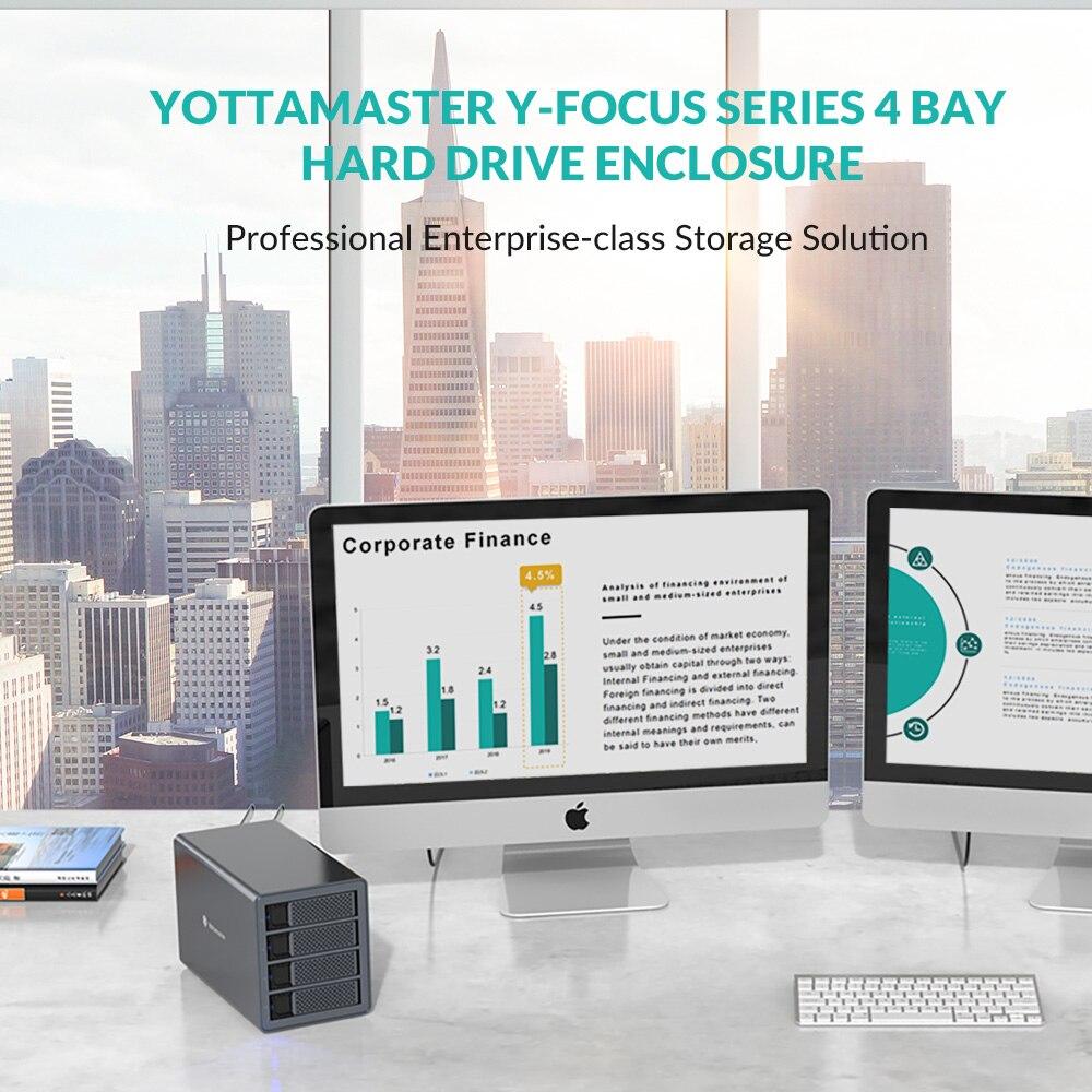 Yottamaster FS4RU3 4 Bay 2.5