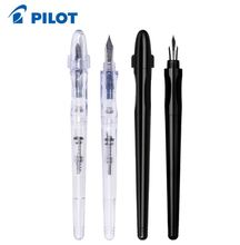 Stylo pilote de luxe, plume de penterie transparente/stylo de calligraphie, poignée Ergo, pince Extra Fine/marqueur noir, stylo japonais pour les étudiants