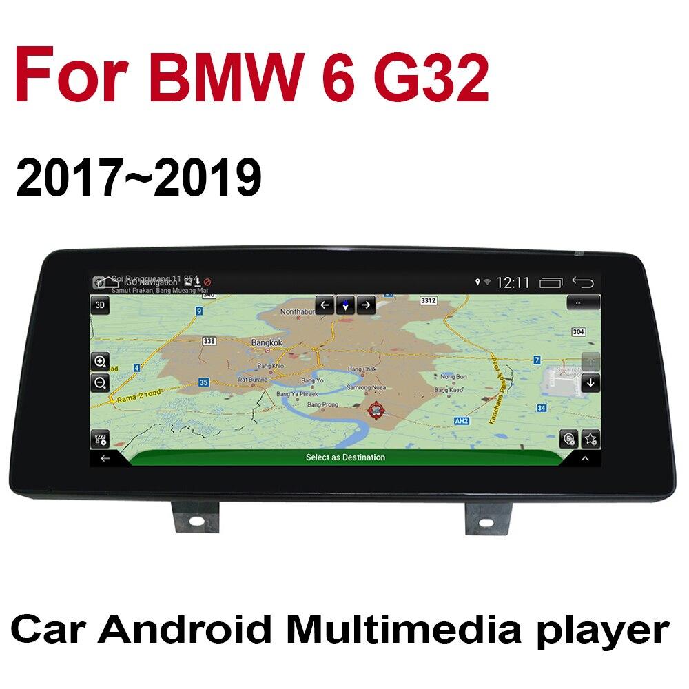 Para BMW 6 G32 2017 2018 2019 IPS car player EVO Pantalla de estilo original estéreo autorradio GPS navegación Bluetooth WiFi