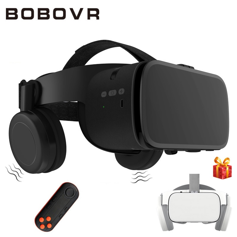 Original BOBOVR Z5 Update BOBO VR Z6 3D Glasses Virtual Reality Binocular Stereo VR Headset Helmet For iPhone Android