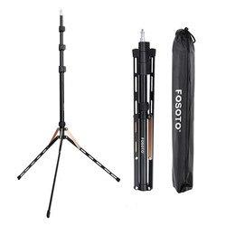 Suporte de lâmpada fosoto ft-190, suporte para iluminação fotográfica, 1/4 parafusos softbox para estúdio fotográfico guarda-chuva