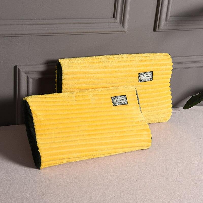موضة جديدة 2 قطعة غطاء الوسادة المخملية وسادة غطاء المخدة عيد الميلاد أريكة المنزل الزخرفية رمي الوسائد غرفة المعيشة