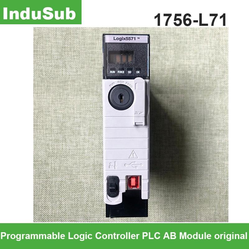 1756-L71 وحدة تحكم منطقية قابلة للبرمجة PLC 1756L71 AB وحدة تحكم أصلي كونترولوجيكس/نظام غواردلوجيكس 5570