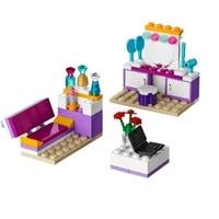 lepinings 10153 76pcs sets girl andreas bedroom house building blocks toys for children girls gift compatible lepinblocks