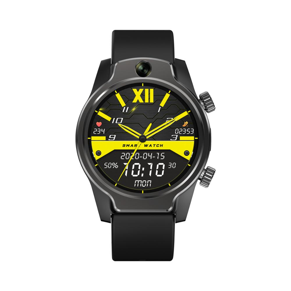 2020 Rollme S08 Smart Watch 32GB 50M impermeable WIFI 4G GPS deporte Android hombres pulsera inteligente con cámara de 8M Video llamada Smartband