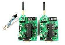 AVR transceptor inalámbrico de placa de desarrollo Mega16 nRF905 nRF24L01 CC1101 Si4432