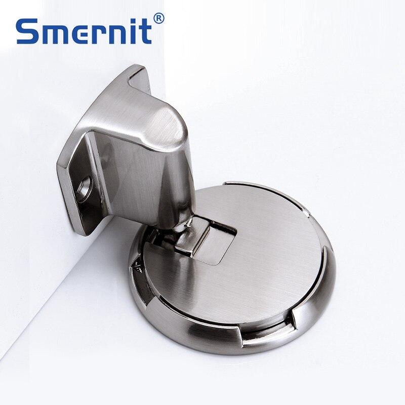 مثبت الباب الميكانيكي سدادة الباب أداة الحفاظ على الباب مفتوحًا باب زجاجي للمرحاض