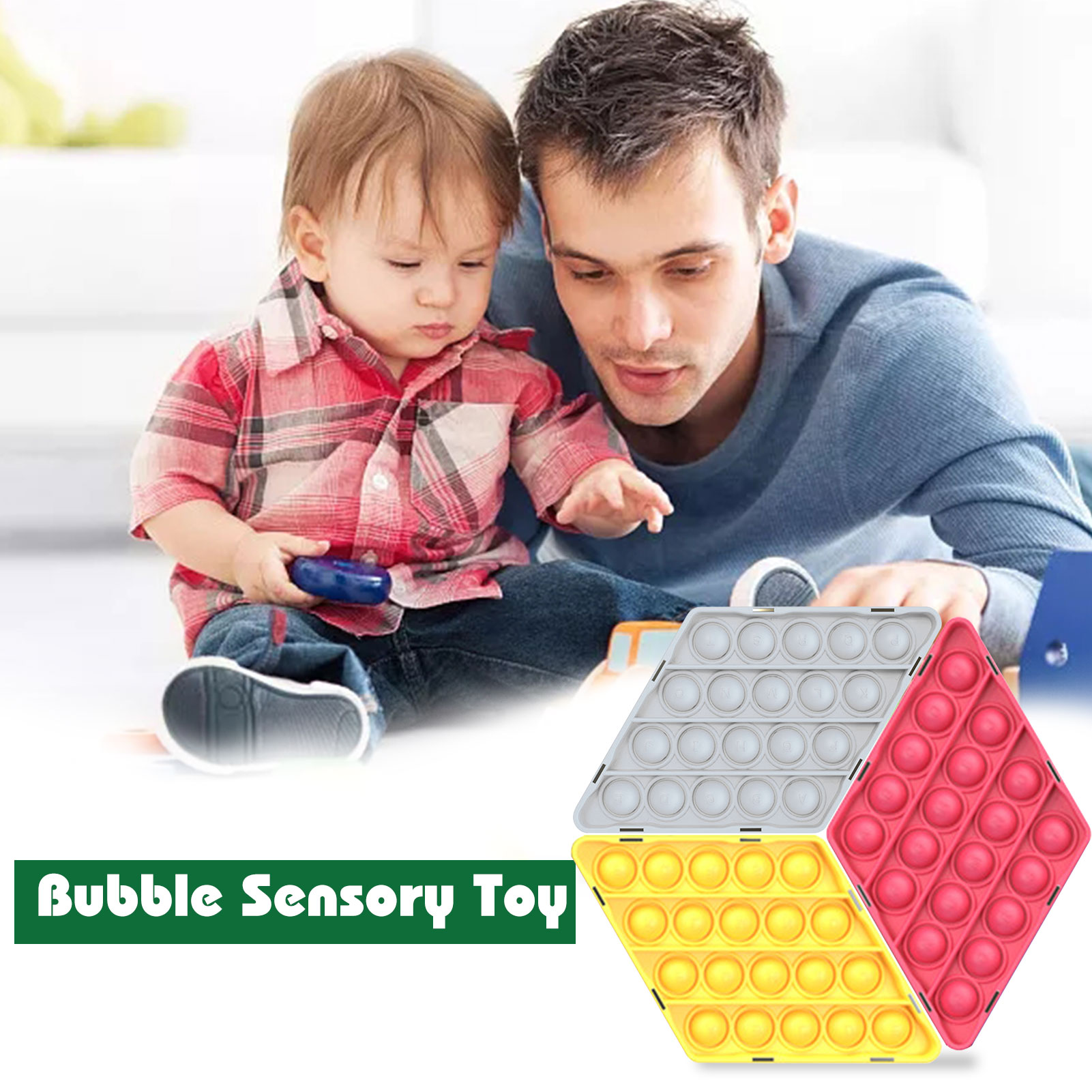 DIY Magnet Push Pop Bubble Sensory Toy for Kids Adult Anti Stress Pop it Fidget Toys Autism Special Needs Stress Reliever Toys enlarge