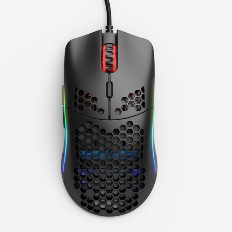 Mouse Glorious Gaming Model O Black Mate (Preto Fosco) - GO-BLACK/ Black Glossy (Preto Brilhante) - GO-GBLACK
