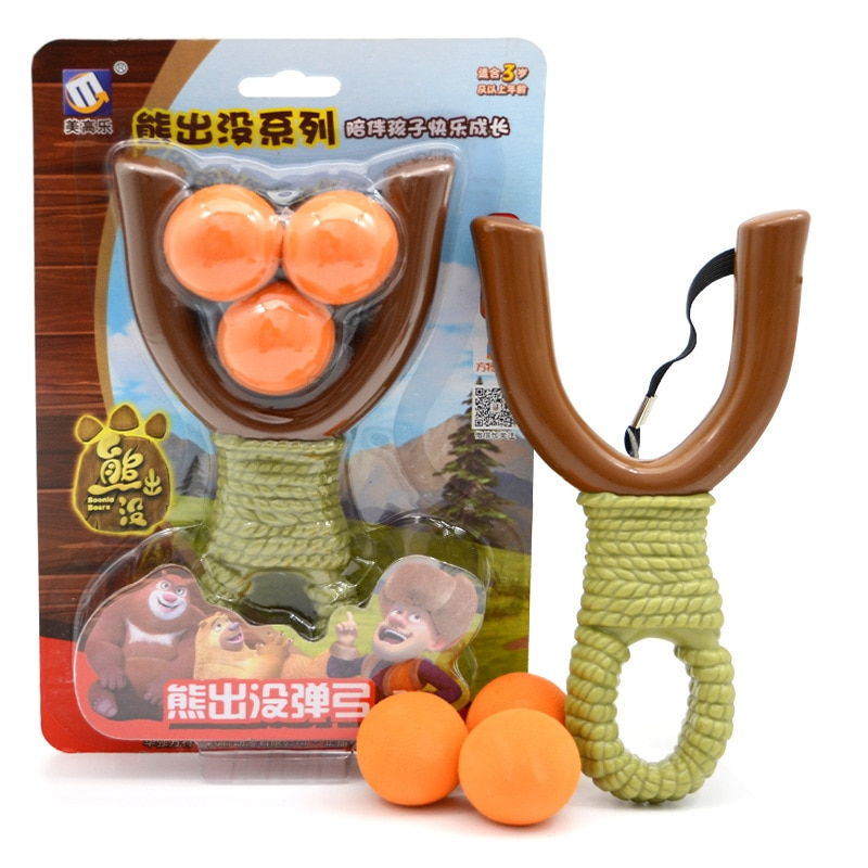 Tirachinas suave de seguridad para niños, juguete tradicional para niños, juguete deportivo para niños, regalos de cumpleaños o vacaciones