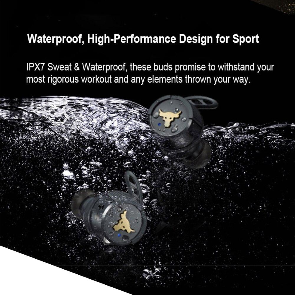 JBL UA Project Rock True Wireless Bluetooth Headsets Original In-Ear IPX7 Game Stereo Headphone with Mic Earbuds Sport Earphone enlarge