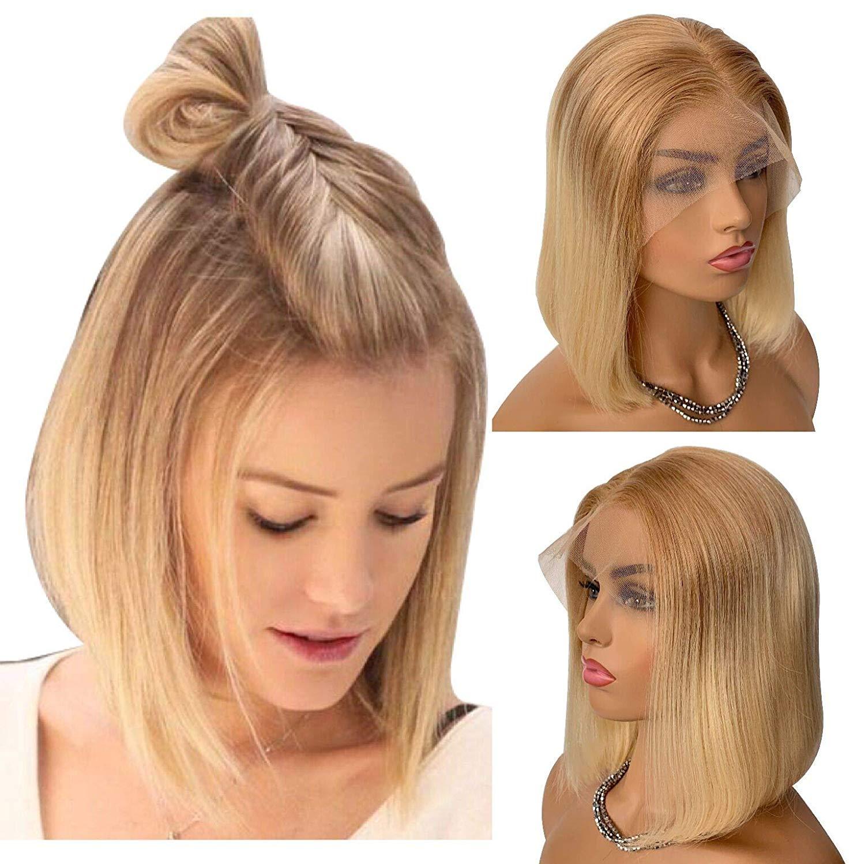 Pelucas de pelo humano frontales de encaje púrpura de Eseewigs para mujeres pelo brasileño Remy onda del cuerpo Peluca de encaje sin pegamento pelo de bebé pre arrancado