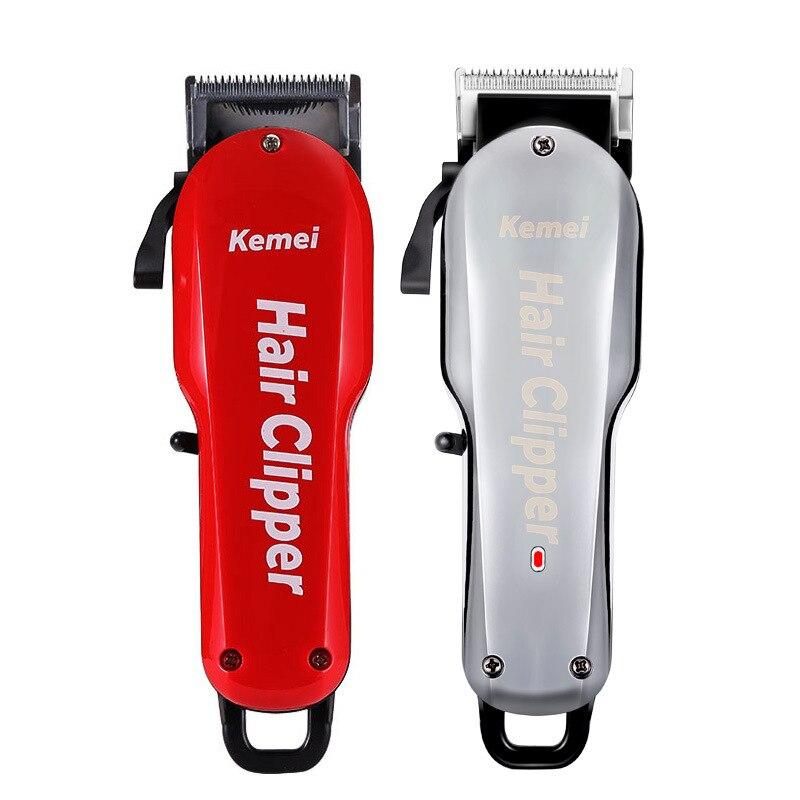 7 horas de bateria grande capacidade profissional wahl hair clipper barbeiro salão beleza coiffure cortador elétrico máquina barbear navalha