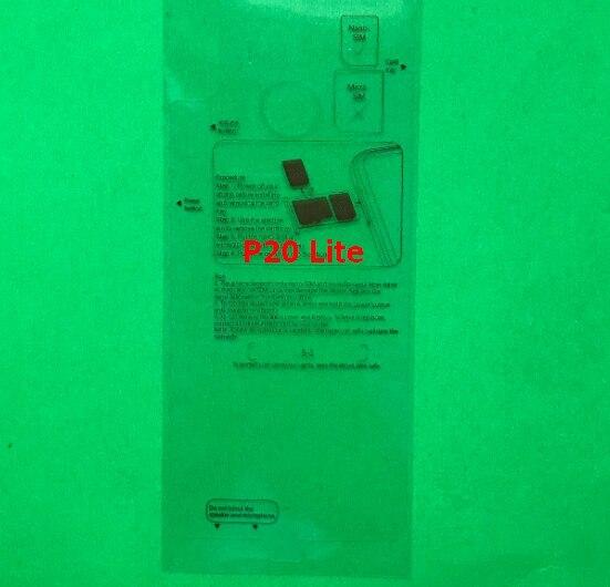 100 قطعة مصنع جديد للهاتف المحمول حامي الشاشة الغطاء الخلفي الإسكان فيلم لهواوي P30 برو ماتي 30 برو ماتي 20 لايت P20 لايت