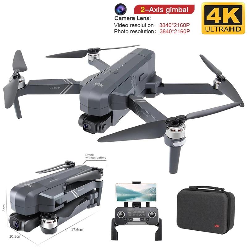 طائرة بدون طيار احترافية 4K HD مع كاميرا Gimbal ، بدون فرش ، 5G ، Wifi ، Gps ، نظام دعم 64G ، بطاقة TF ، مسافة 1.5 كجم ، F11 PRO Rc ، لعبة بدون طيار