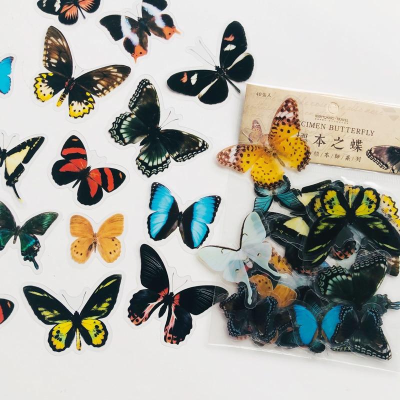 40-unids-bolsa-adhesivas-de-pegatinas-decorativas-de-pvc-mariposa-estilo-de-especimen-oscuro-bricolaje-decoracion-de-cuaderno-artesanal