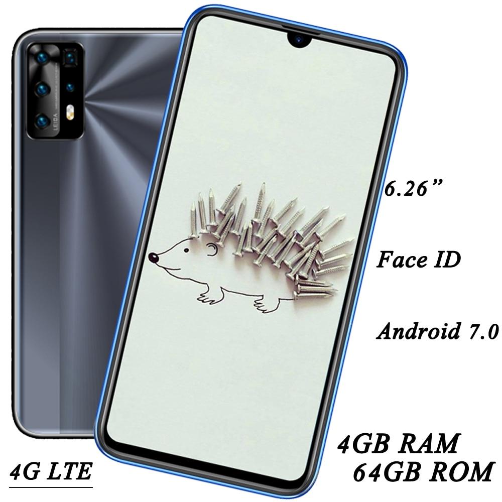 10X LTE Face ID 13MP 4G RAM + 64G ROM 6.26