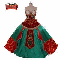 musical the phantom of the opera christine daae dress gown cosplay costumes christine hannibal ballet costume slave girl costume