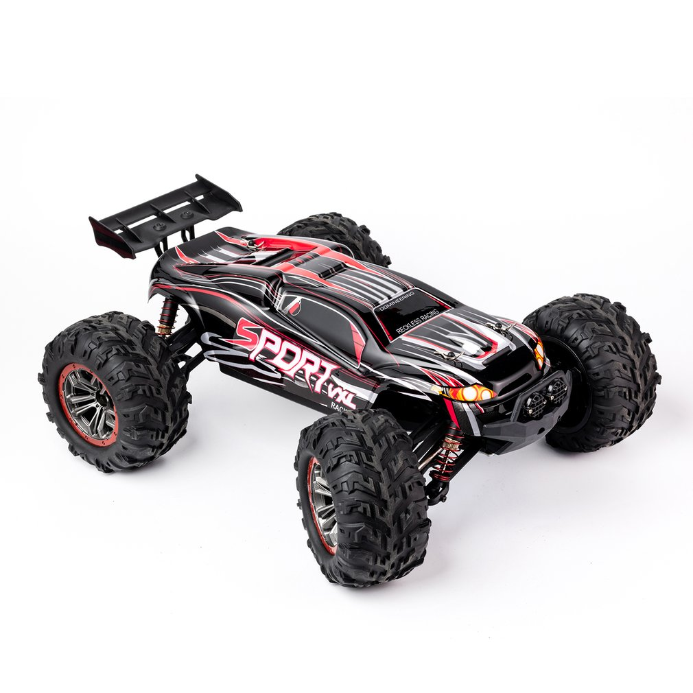 X-03 X-04 1/10 Scale 2.4Ghz 4WD High Speed RC Bigfoot Big Wheels Off-Road Rock Race Truck Electric RC Remote Control Car enlarge