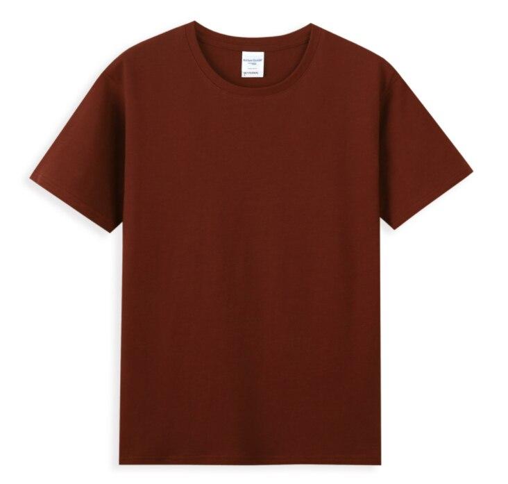 6 قطعة مزدوجة الغزل تي شيرتات قصيرة الاكمام الإعلان قميص قميص قميص فريق مخصص شعار مخصص نمط مخصص الرجال قصيرة L30