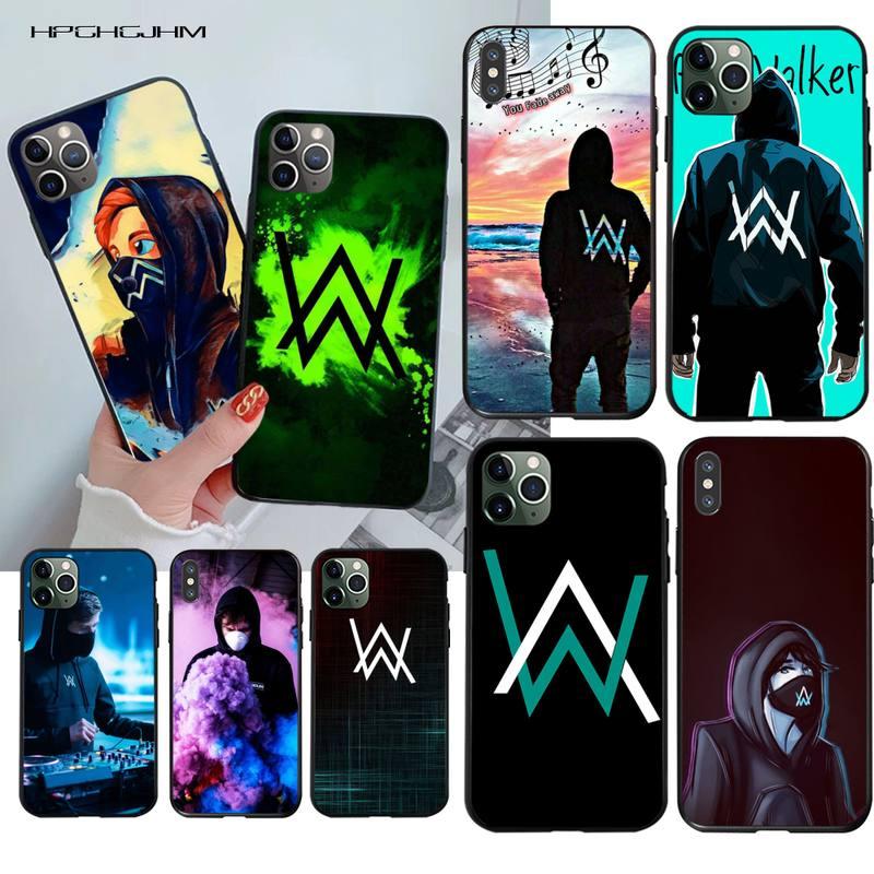 Alan walker desbotado cliente de alta qualidade caso telefone para iphone 11 pro xs max 8 7 6 s plus x 5S se 2020 xr