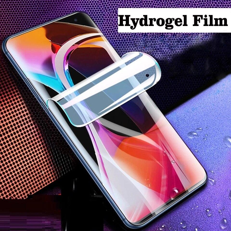 100 قطعة غطاء كامل هيدروجيل شاشة السينما حامي ل Xiaomi 11 10 برو واقية لينة فيلم ل XiaoMI ملاحظة 10 10T لايت لا الزجاج