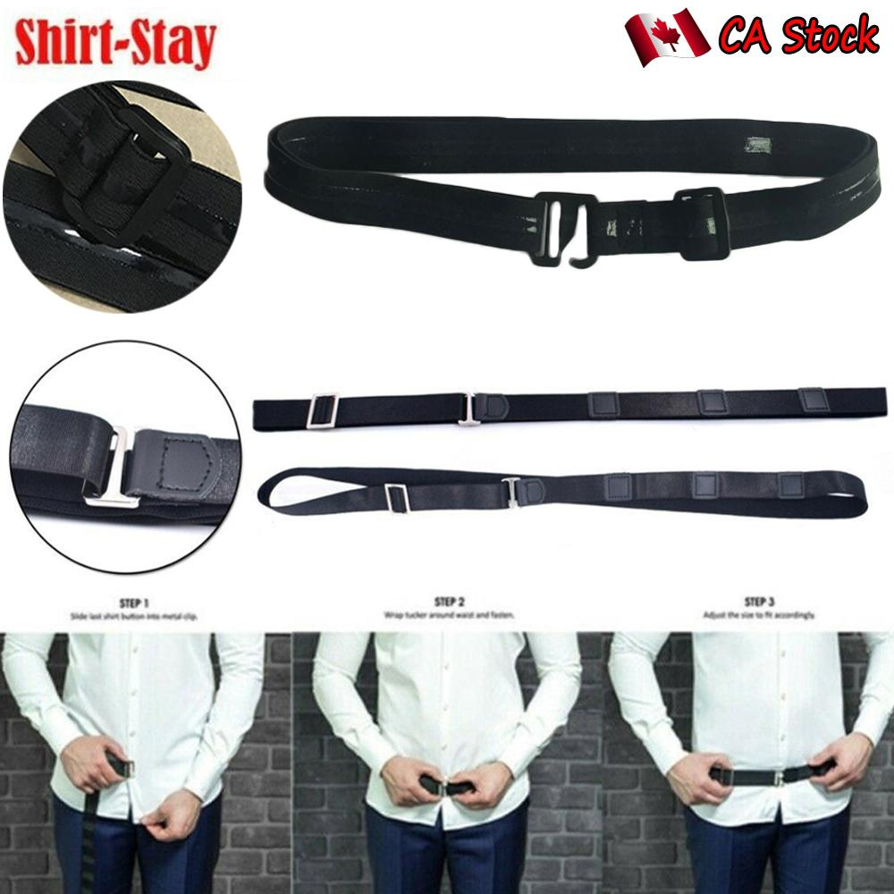 3 шт. держатель для рубашки Регулируемый рядом с рубашкой оставайтесь лучший Tuck It пояс для женщин мужчин работа интервью