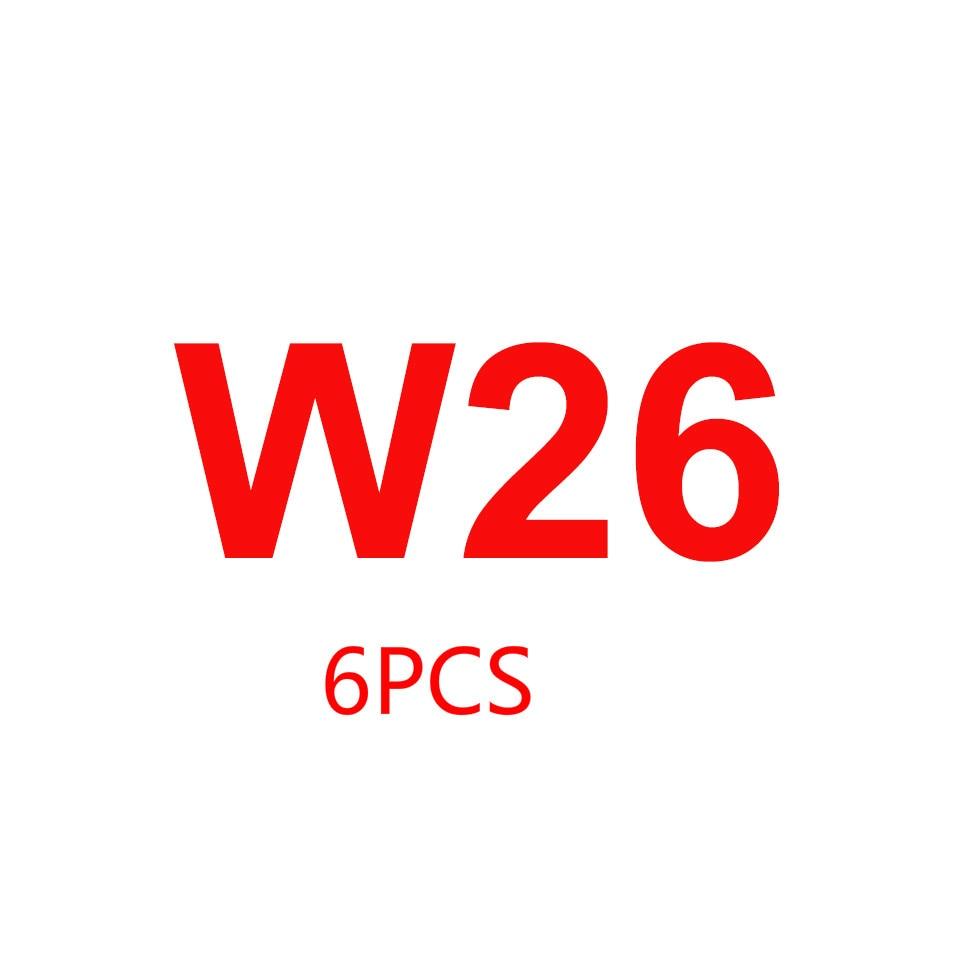 6 قطعة IWO W26 44 مللي متر/40 مللي متر ووتش
