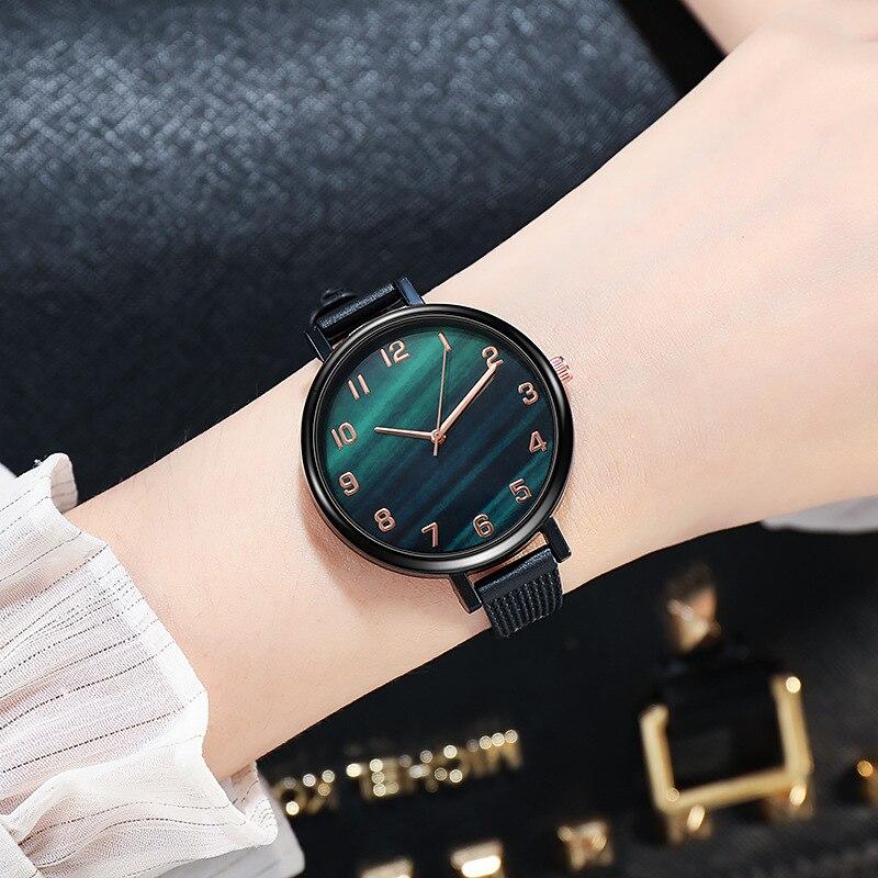 High Quality 38mm Fashion Quartz noctilucence SHSHD Women Stainless Steel Mesh Rose Gold Waterproof Ladies Watch Dropshipping enlarge