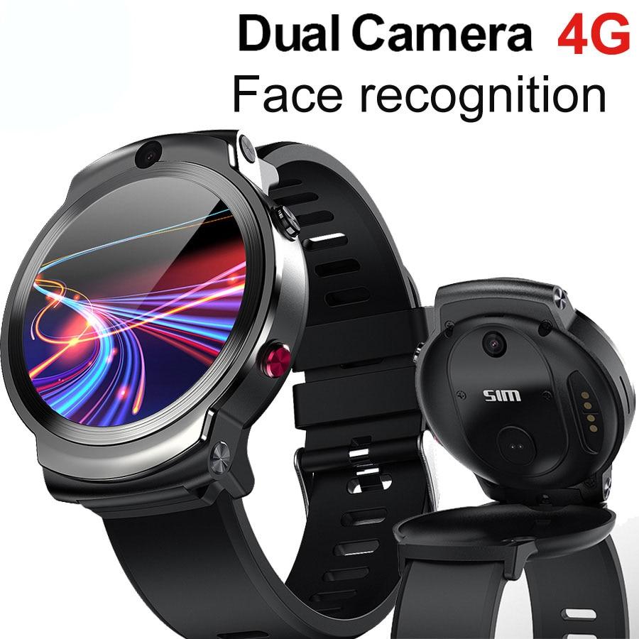 Get 2021 New 4G Smart Watch DM28 HD Retina Screen Andriod 7.1 8.0MP Camera MTK6739 Quad Core 3GB 32GB IP67 Waterproof
