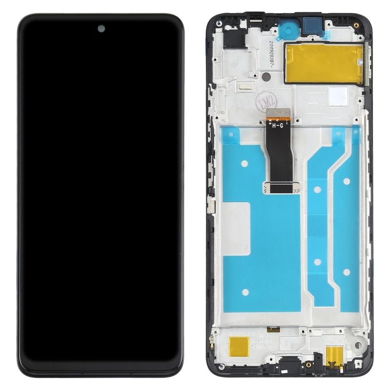 LCD Screen and Digitizer Full Assembly with Frame for Huawei P Smart 2021 Mobile Phone LCD Display Replacement Parts enlarge