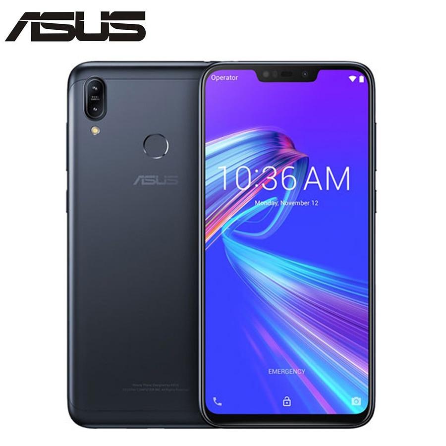 Global Version Asus Zenfone Max M2 ZB633KL Mobile Phone 6.26Inch 4GB 64GB Snapdragon632 4000mAh Dual SIM Android 8.1 Smartphone