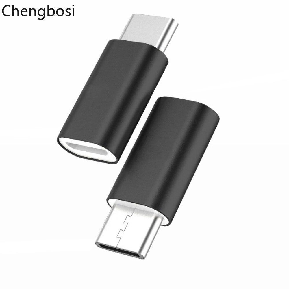 Adaptador USB, Micro USB a tipo C OTG, convertidor de Cable tipo C para Macbook Samsung Galaxy S8 S9 Huawei P20 Pro P10 OTG, adaptador