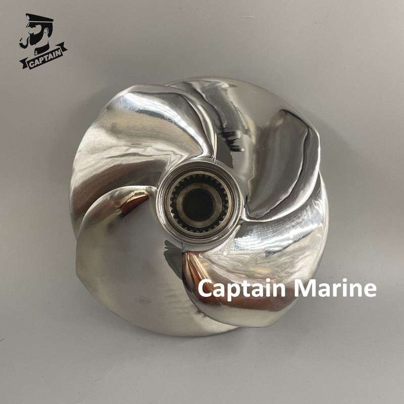 SX4-CD-13/16 161mm Jet Ski Impeller for Seadoo RXP-X 300 / RXT-X 300 / GTX LIMITED 300 Polished 26700951 4 blade enlarge