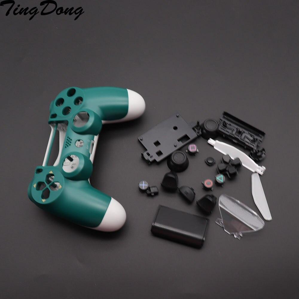 Carcasa y botones de repuesto para jds 040 JDM-040, DualShock 4, PlayStation 4, PS4 Pro, V2, carcasa de controlador